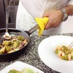 Mingo Morilla - Carxofes amb gambes i calamars 2