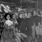 Parada de Cal Neguit en la Boqueria. Mediados de los años 40. Foto: Cal Neguit.