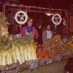 Parada de Cal Neguit en la Boqueria los años 70. Foto: Cal Neguit.
