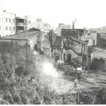 Enderroc de la masia de ca n'Armand. Foto: Arxiu de Castelldefels.