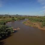 El riu Llobregat al seu pas pel Baix Llobregat