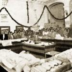Fira de l'espàrrec de Gavà de 1935. Foto cedida per l'Ajuntament de Gavà.