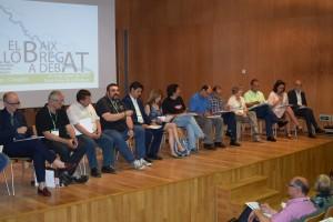 """Participants al congrés """"El Baix a debat"""" en una de les sessions del congrés."""