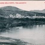 Panoràmica de Sant Vicenç dels Horts. Anys 20. AMSVH. Donació de la família Costa Ubach.
