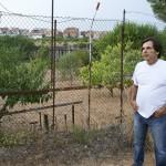 Alfonso Muñoz, regidor de Promoció Econòmica de l'Ajuntament de Santa Coloma de Cervelló i promotor de la recuperació de terres perquè es cultivin de nou.
