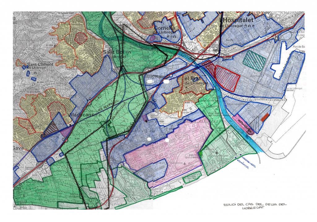 Mapa realitzat per l'alumna Ariadna Serrano Gaya, de 3er d'ESO de l'Institut Leonardo da Vinci de Sant Cugat del Vallès. Imatge cedida per l'alumna.