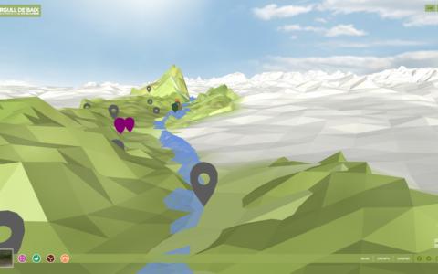 """Three.js, la tecnología 3D que ha hecho posible """"Orgull de Baix"""""""