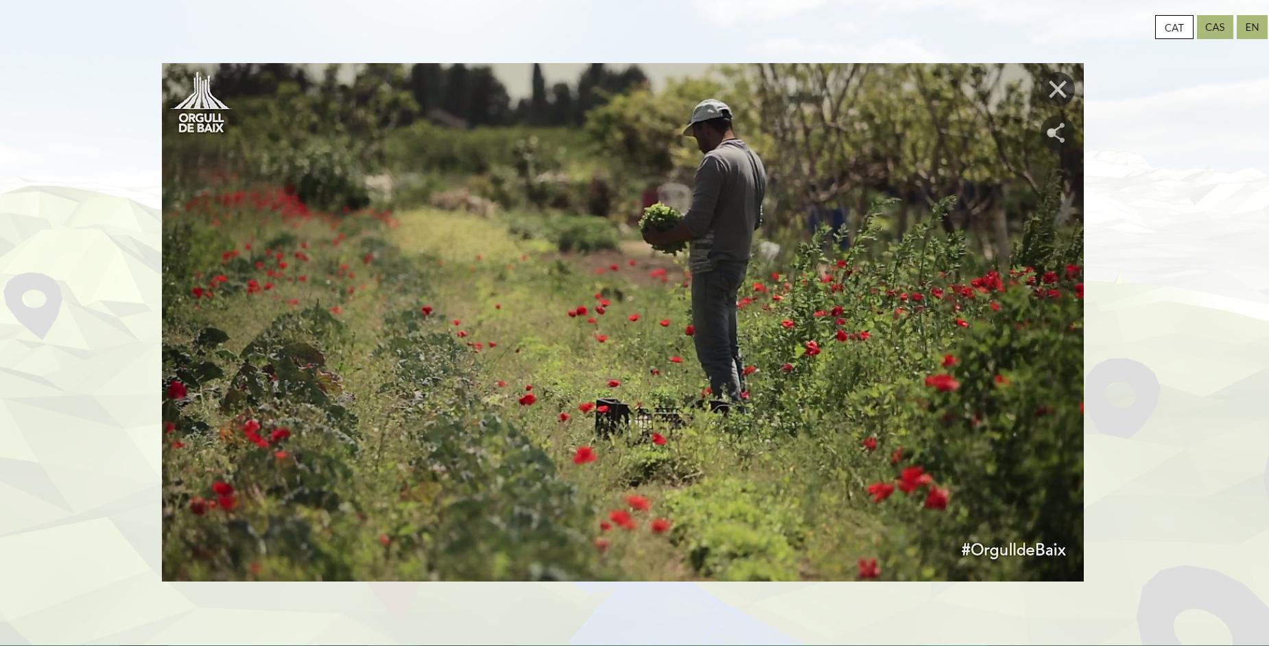Imatge del documental interactiu Orgull de Baix.